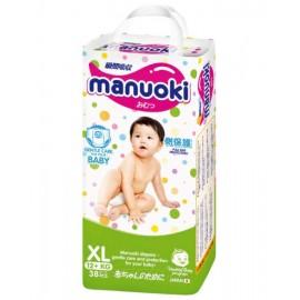 Трусики-подгузники Manuoki XL (12+ кг) 38 шт+ салфетки в подарок!