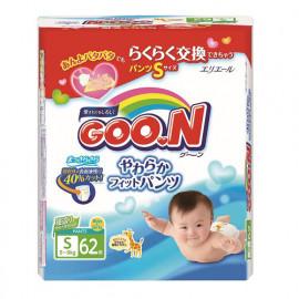 Трусики-подгузники Goo.N S (5-9 кг) 62 шт.