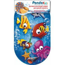Коврик для ванны Рыбки PondoKids.