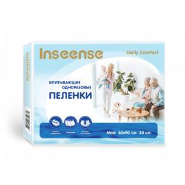 Inseense пеленки одноразовые Daily Comfort 60х90см, 30 шт.