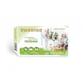 Inseense пеленки одноразовые Daily Comfort 60х40см, 30 шт.