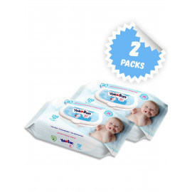 Влажные салфетки Yokosun Детские, пластиковая крышка, 120 шт., 2 уп.
