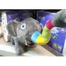 При покупке большой упаковки подгузников ТМ Bella Happy мы дарим вам в подарок мягкую игрушку!!!!!