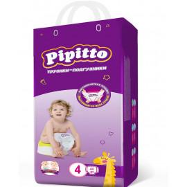 Pipitto трусики-подгузники 4 (7-18кг), 44шт