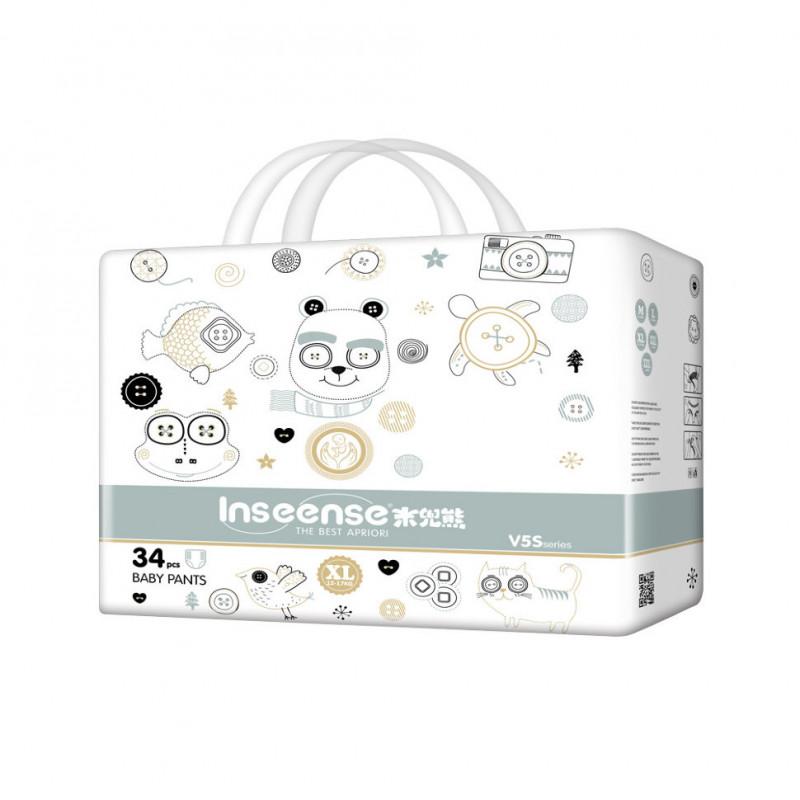 Трусики-подгузники Inseense V5S XL (12-17 кг) 34 шт.