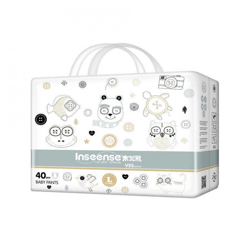 Трусики-подгузники Inseense V5S L (9-14 кг) 40 шт.
